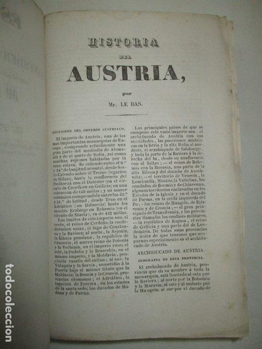 Libros antiguos: ESTADOS DE LA CONFEDERACIÓN JERMÁNICA, CONTINUACIÓN DE LA HISTORIA JENERAL DE ALEMANIA. - LE BAS, Ph - Foto 5 - 123207243