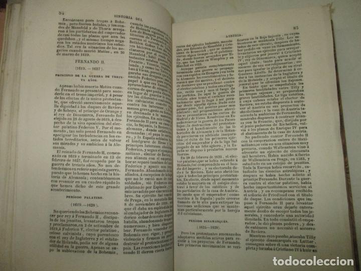 Libros antiguos: ESTADOS DE LA CONFEDERACIÓN JERMÁNICA, CONTINUACIÓN DE LA HISTORIA JENERAL DE ALEMANIA. - LE BAS, Ph - Foto 7 - 123207243