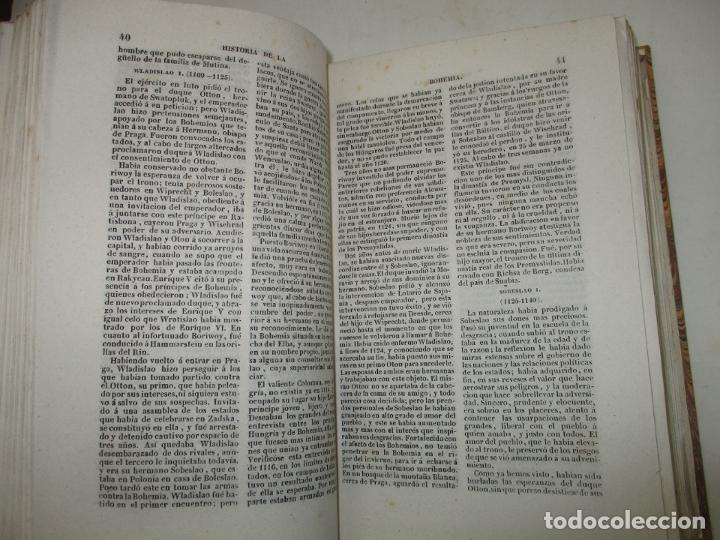 Libros antiguos: ESTADOS DE LA CONFEDERACIÓN JERMÁNICA, CONTINUACIÓN DE LA HISTORIA JENERAL DE ALEMANIA. - LE BAS, Ph - Foto 9 - 123207243
