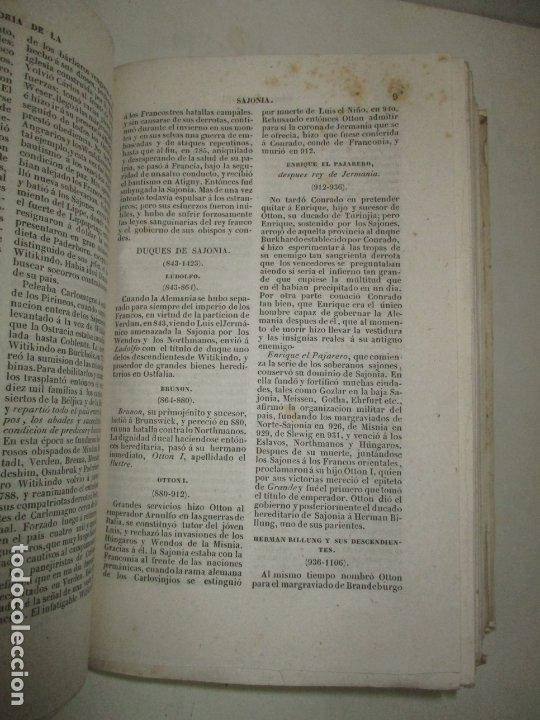 Libros antiguos: ESTADOS DE LA CONFEDERACIÓN JERMÁNICA, CONTINUACIÓN DE LA HISTORIA JENERAL DE ALEMANIA. - LE BAS, Ph - Foto 13 - 123207243