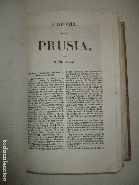 Libros antiguos: ESTADOS DE LA CONFEDERACIÓN JERMÁNICA, CONTINUACIÓN DE LA HISTORIA JENERAL DE ALEMANIA. - LE BAS, Ph - Foto 14 - 123207243
