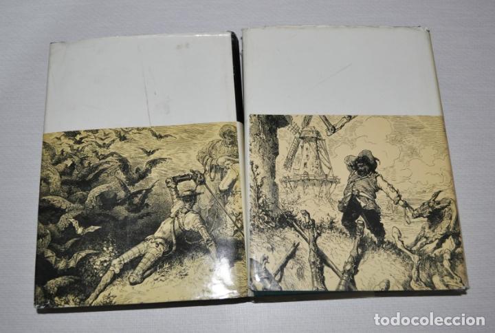 Libros antiguos: Miguel de Cervantes .Don Quijote de la Mancha .Edicion sovietica 1970 a .URSS. dos tomos - Foto 3 - 176124468