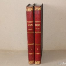 Libros antiguos: FR GERUNDIO. REVISTA EUROPEA (2 TOMOS). MODESTO LAFUENTE - TIPOGRAFIA DE MELLADO - AÑO 1848. Lote 176205802