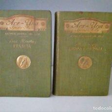 Libros antiguos: ARS UNA SPECIES - MILLE- HISTORIA GENERAL DEL ARTE: ESPAÑA Y PORTUGAL - -FRANCIA. Lote 176206965