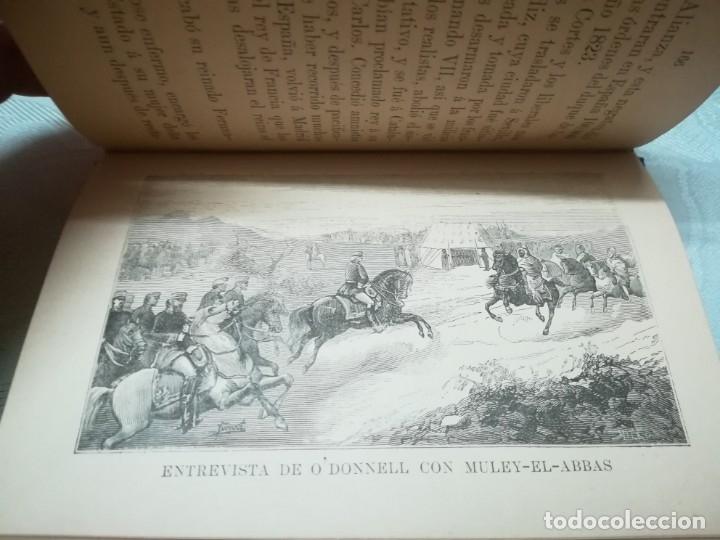 Libros antiguos: Precioso libro nociones de historia de España escrita por saturnino calleja año 1887 Ilustrado - Foto 6 - 176224789