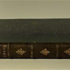 Libros antiguos: RECHERCHES SUR DÉLOS. J. ALBERT LEBÈGUE. EDIT. E. THORIN. PARÍS. 1876.. Lote 176274670