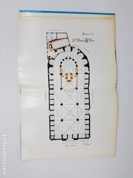 Libros antiguos: SANTA MARIA DEL MAR ,BASSEGODA ( MONOGRAFIA ) 1976 - Foto 4 - 176375300
