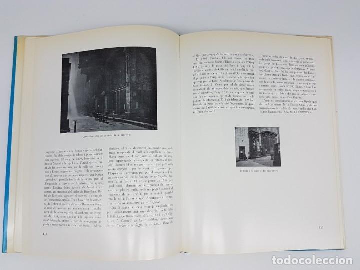 Libros antiguos: SANTA MARIA DEL MAR ,BASSEGODA ( MONOGRAFIA ) 1976 - Foto 7 - 176375300