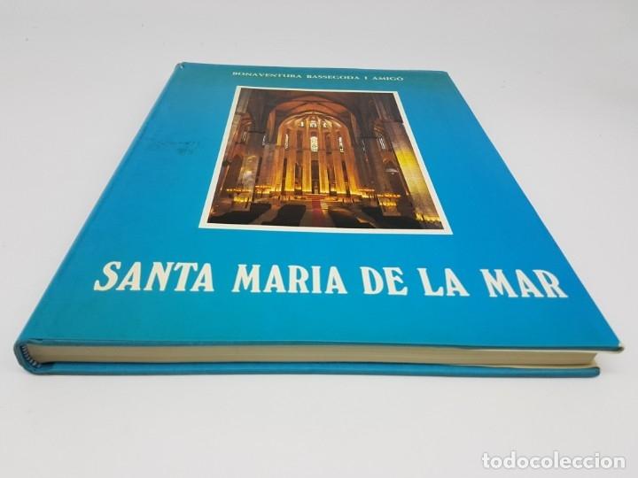 Libros antiguos: SANTA MARIA DEL MAR ,BASSEGODA ( MONOGRAFIA ) 1976 - Foto 9 - 176375300