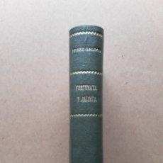 Libros antiguos: B. PÉREZ GALDOS,FORTUNATA Y JACINTA,1930,PARTE SEGUNDA. Lote 176378503