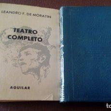 Libros antiguos: LEANDRO F. MORATÍN TEATRO COMPLETO CRISOL 44. Lote 176414018