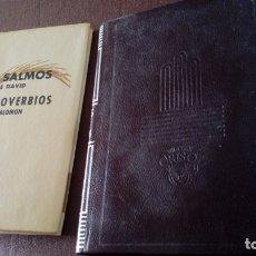 Libros antiguos: SALMOS PROVERBIOS CRISOL 62. Lote 176415155