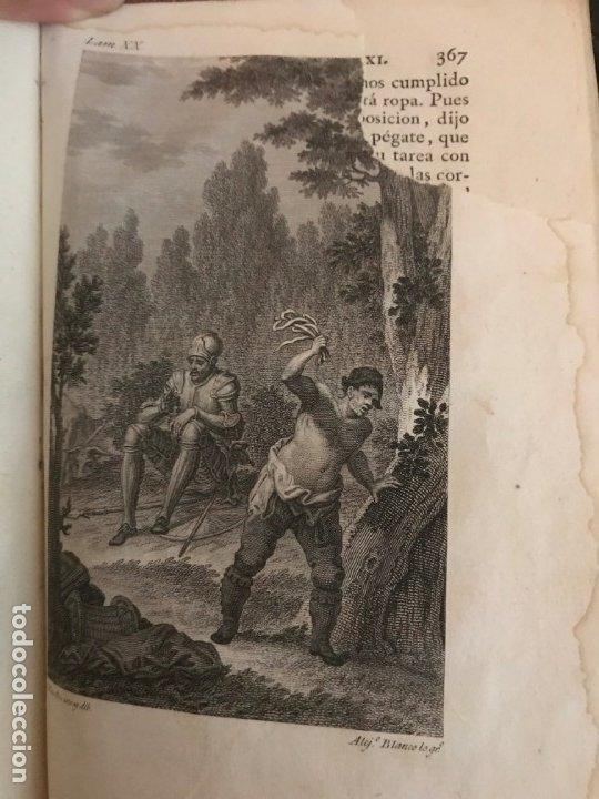 Libros antiguos: 1819 DON QUIJOTE DE LA MANCHA. REAL ACADEMIA ESPAÑOLA. IMPRENTA REAL. GRABADOS DE RIVELLES. 3 TOMOS - Foto 12 - 176510073
