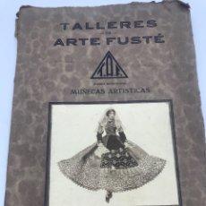 Libros antiguos: ANTIGUO LIBRO DE TALLERES DE ARTE FUSTE NÚM 926. Lote 176515005