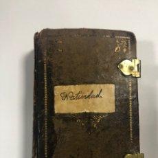 Libros antiguos: OFFICIUM IN FESTO NATIVITATES DOMINI. MATRITI. AÑO 1805. PAGS: 602. Lote 176549108