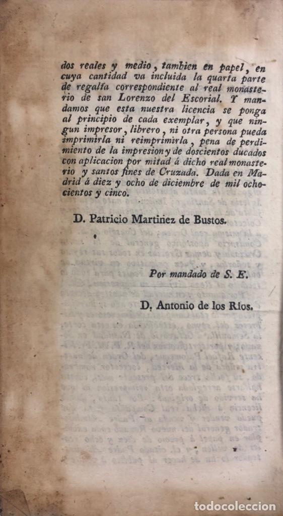 Libros antiguos: OFFICIUM IN FESTO NATIVITATES DOMINI. MATRITI. AÑO 1805. PAGS: 602 - Foto 6 - 176549108