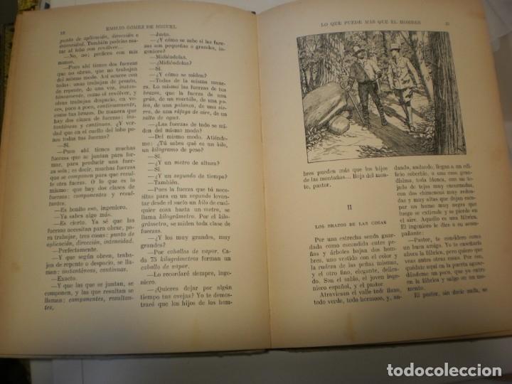 Libros antiguos: lo que puede más que el hombre. editorial sopena 1924 tapa dura 78 pág (buen estado) - Foto 3 - 176552075