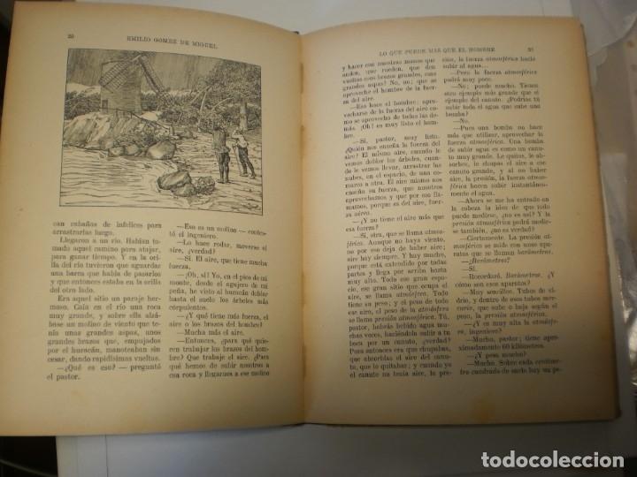 Libros antiguos: lo que puede más que el hombre. editorial sopena 1924 tapa dura 78 pág (buen estado) - Foto 4 - 176552075