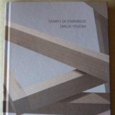Libros antiguos: EMILIA TRUEBA. TIEMPO DE ENÁNAGOS. ESCULTURA. ARTE. CANTABRIA.. Lote 176612920