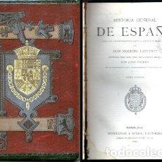 Libros antiguos: HISTORIA GENERAL DE ESPAÑA. TOMO 8 - LAFUENTE, MODESTO - A-INCOMP-367. Lote 176685842
