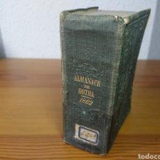 Libros antiguos: ALMANACH DE GOTHA, 1862. Lote 176701929