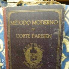 Libros antiguos: METODO MODERNO DE CORTE PARISIEN SISTEMA PRIVILEGIADO ESTAPE 1933. Lote 176703413
