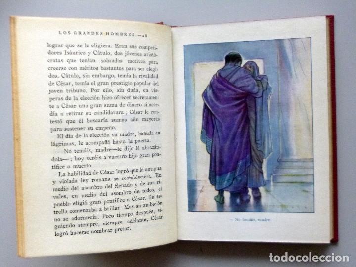Libros antiguos: JULIO CESAR // VIDA Y HECHOS // MARÍA LUZ MORALES // ARALUCE // ILUSTRA JOSÉ SEGRELLES // 1926 - Foto 3 - 176771904