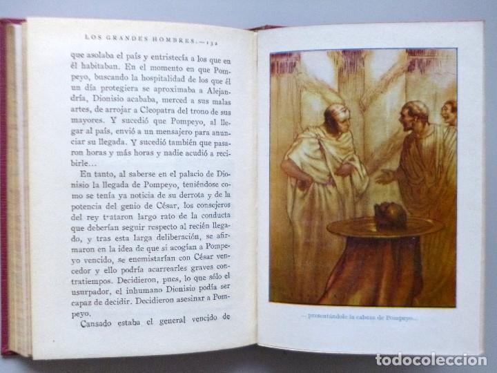 Libros antiguos: JULIO CESAR // VIDA Y HECHOS // MARÍA LUZ MORALES // ARALUCE // ILUSTRA JOSÉ SEGRELLES // 1926 - Foto 4 - 176771904