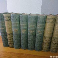 Libros antiguos: MONOGRÁFIAS HISTÓRICAS, RAMÓN SOPENA, 8 TOMOS, AÑOS 20. Lote 176787414