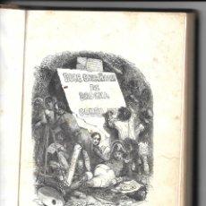 Libros antiguos: NOVELA Y GRABADOS, SIGLO XIX] ANTONIO FLORES, DOCE ESPAÑOLES DE BROCHA GORDA. Lote 176788692