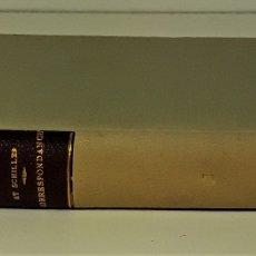 Libros antiguos: CORRESPONDANCE ENTRE GOETHE ET SCHILLER. TOMO I. EDIT. CHARPENTIER. PARÍS. 1863.. Lote 176805687