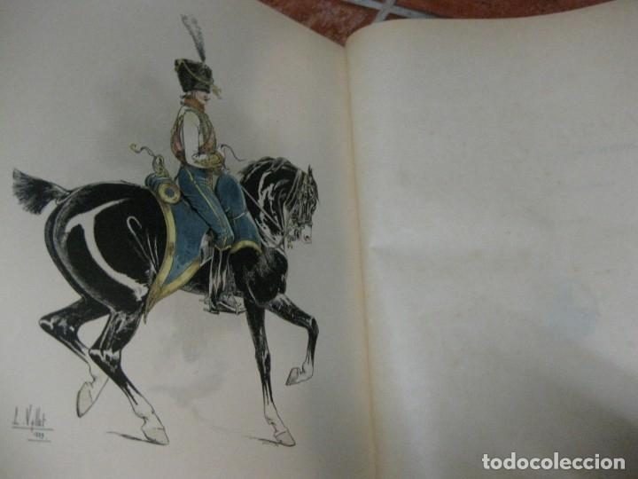 Libros antiguos: le chic a cheval . histtoire pittoresque de lequitation l. vallet 1891 ilustrado equitacion caballo - Foto 4 - 176857792