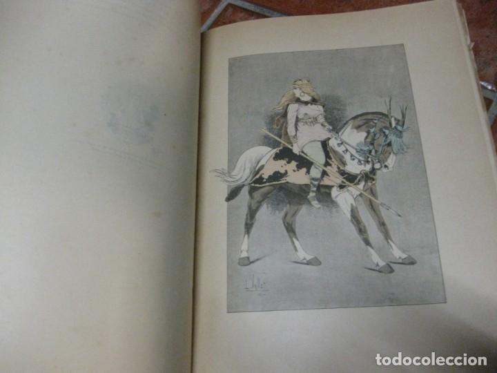 Libros antiguos: le chic a cheval . histtoire pittoresque de lequitation l. vallet 1891 ilustrado equitacion caballo - Foto 6 - 176857792