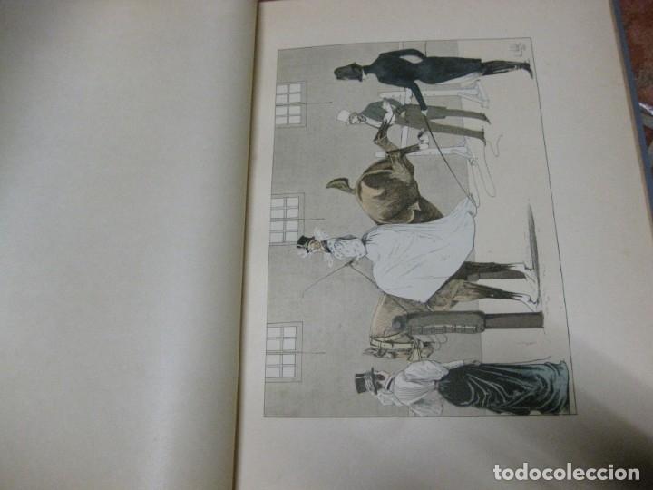 Libros antiguos: le chic a cheval . histtoire pittoresque de lequitation l. vallet 1891 ilustrado equitacion caballo - Foto 13 - 176857792