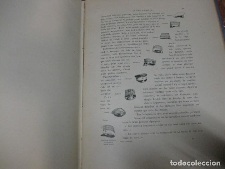 Libros antiguos: le chic a cheval . histtoire pittoresque de lequitation l. vallet 1891 ilustrado equitacion caballo - Foto 15 - 176857792