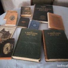 Libros antiguos: LOTE DE 10 LIBROS,FINALES DEL SIGO XIX PRIMERA MITAD DEL SIGLO XX,A CATALOGAR,INTERESANTE LOTE.. Lote 176861375