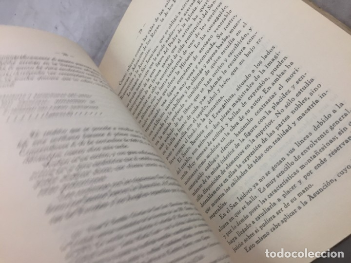 Libros antiguos: Homenaje a Martínez Montañés (1568-1649). 1939 - Foto 10 - 176866525