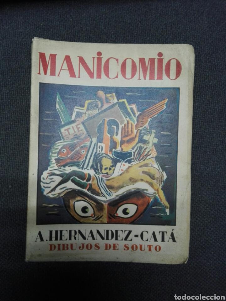 MANICOMIO. DIBUJOS DE SOUTO 1931 (Libros Antiguos, Raros y Curiosos - Literatura - Otros)
