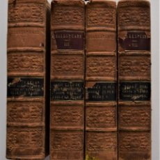 Libros antiguos: THE DRAMATIC WORK OF WILLIAM SHAKESPEARE - NOTES SAMUEL WELLER - TOMOS I, III, V Y VII - AÑO 1865. Lote 176877743