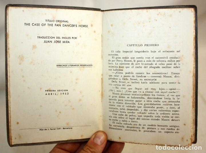Libros antiguos: EL CASO DE LA BAILARINA Y SU CABALLO. ERLE STANLEY GARDNER. ED. PLANETA. 1ª EDICIÓN (1953) - Foto 4 - 176895234