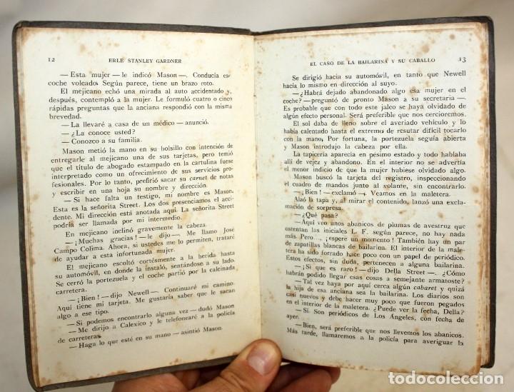 Libros antiguos: EL CASO DE LA BAILARINA Y SU CABALLO. ERLE STANLEY GARDNER. ED. PLANETA. 1ª EDICIÓN (1953) - Foto 5 - 176895234