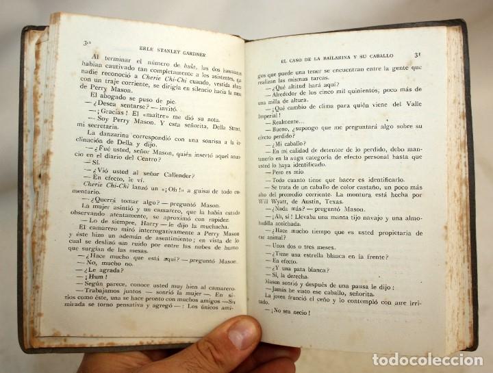 Libros antiguos: EL CASO DE LA BAILARINA Y SU CABALLO. ERLE STANLEY GARDNER. ED. PLANETA. 1ª EDICIÓN (1953) - Foto 6 - 176895234