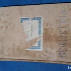 Libros antiguos: GEOMETRÍA 1928. Lote 176915674
