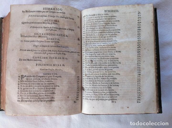 Libros antiguos: EL PARNASSO ESPAÑOL. FRANCISCO DE QUEVEDO VILLEGAS. MADRID. 1729. - Foto 9 - 176923440
