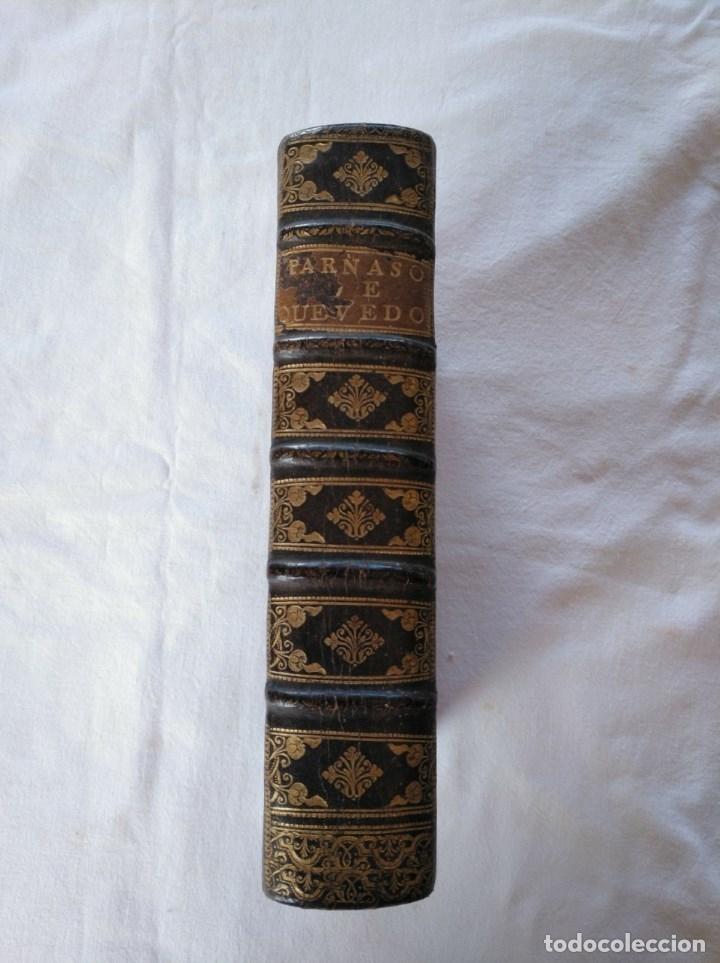 Libros antiguos: EL PARNASSO ESPAÑOL. FRANCISCO DE QUEVEDO VILLEGAS. MADRID. 1729. - Foto 10 - 176923440