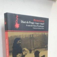 Libros antiguos: DIARIO DE PRAGA (1941-1942) PETR GINZ. Lote 176916535
