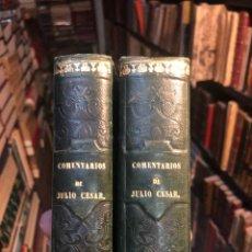 Libros antiguos: LOS COMENTARIOS DE CAYO JULIO CÉSAR. TRAD. MANUEL DE VALBUENA. MADRID; IMPRENTA REAL, 1798. 2 TOMOS.. Lote 176982698