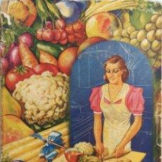 Libros antiguos: LA COCINA VEGETARIANA MODERNA / IGNACIO DOMÉNECH. BARCELONA : QUINTILLA, CARDONA Y CIA, [S.A.]. . Lote 176992678