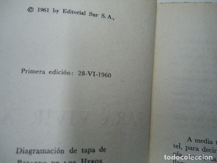 Libros antiguos: PARA VIVIR AQUÍ 1961 JUAN GOYTISOLO EDITA SUR EN BBAA RARA 1ª CON 185 PÁGINAS - Foto 3 - 176994372