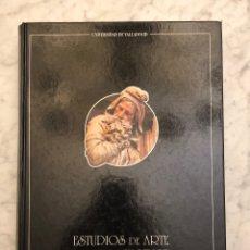 Libros antiguos: ESTUDIOS DE ARTE. HO MENAJE AL PROFESOR MARTÍN GONZÁLEZ(33€). Lote 177017452